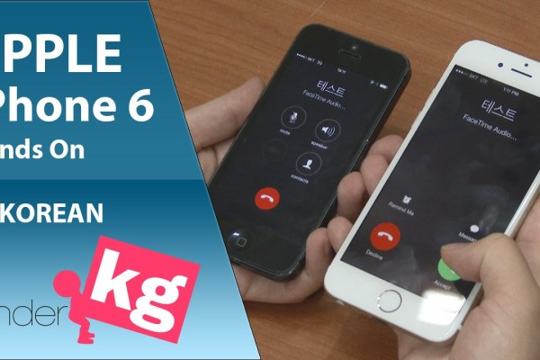 iPhone 6とiPhone 6 plusのハンズオン動画